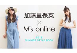 M's ONLINE × 加藤里保奈