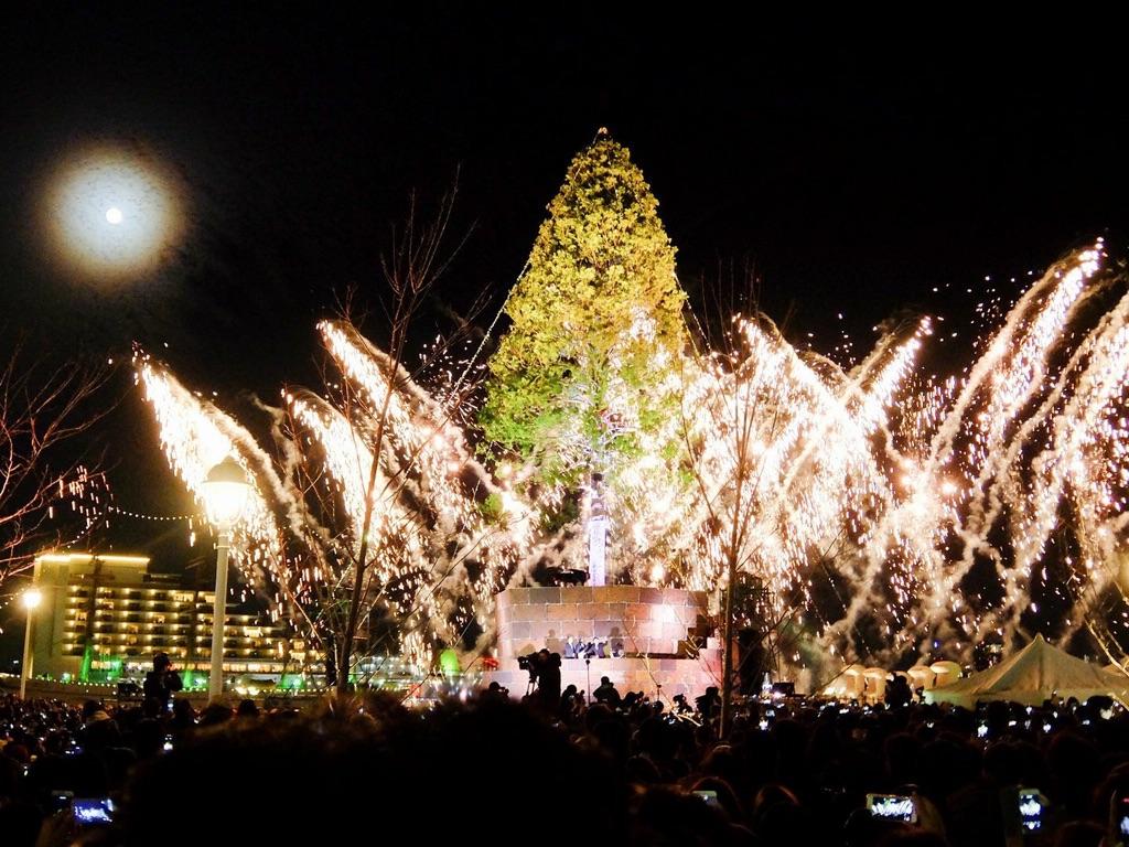 世界一のクリスマスツリーPROJECT 点灯式演出 ステージディレクション